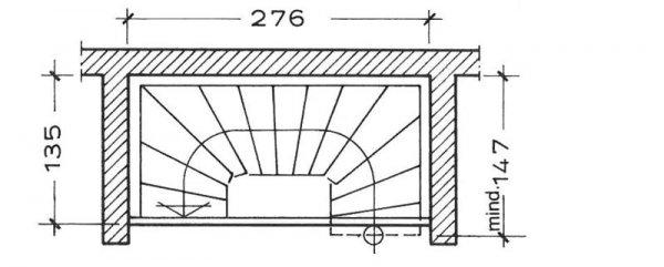 halbgewendelte treppe berechnen halbgewendelte treppe planen gestalten stadler blog. Black Bedroom Furniture Sets. Home Design Ideas
