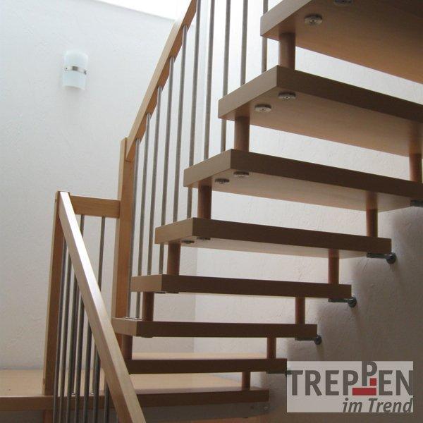 Holztreppe Verschönern freitragende bolzentreppe treppen im trend