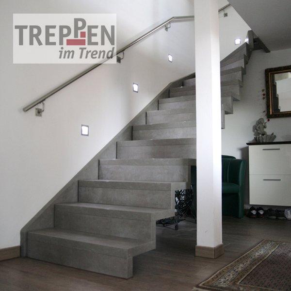 Treppen einzelansicht treppen im trend - Holztreppe fliesen ...