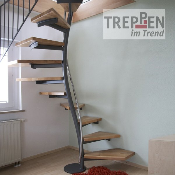 design treppe freistehend. Black Bedroom Furniture Sets. Home Design Ideas