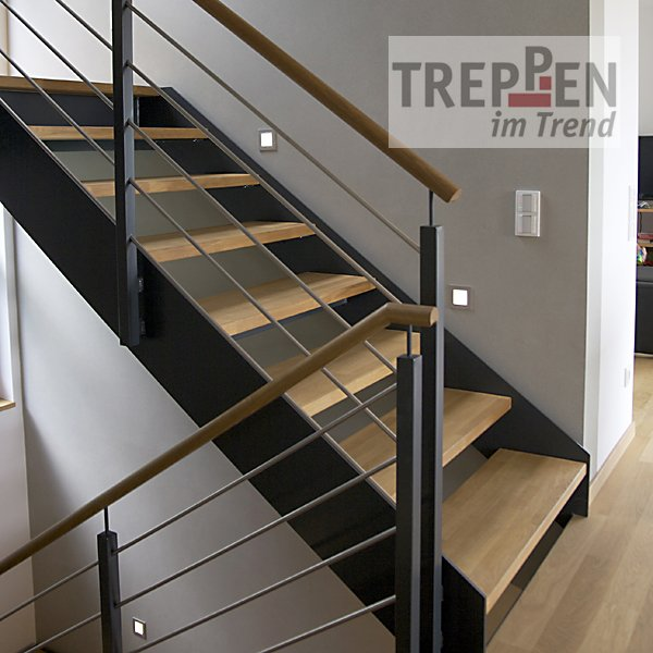 treppen einzelansicht treppen im trend. Black Bedroom Furniture Sets. Home Design Ideas